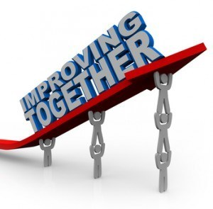 Improving Together Team Lifts Arrow for Growth Success